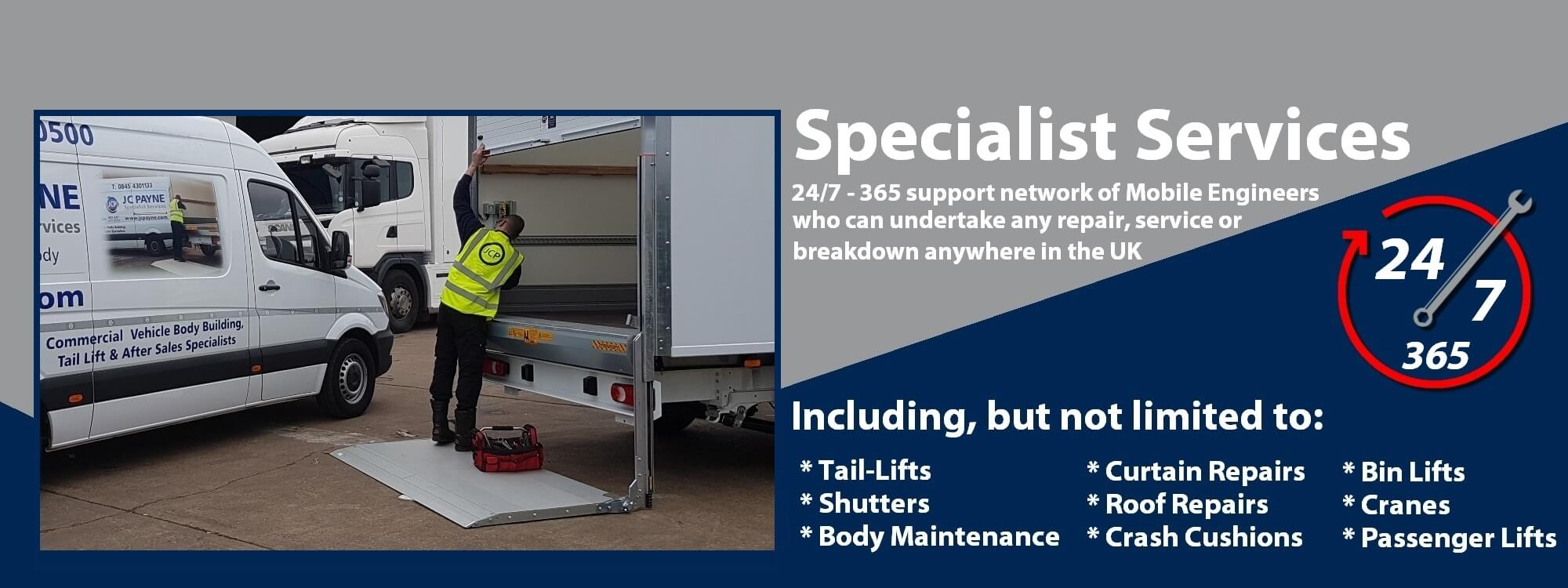 JC Payne Specialist Services